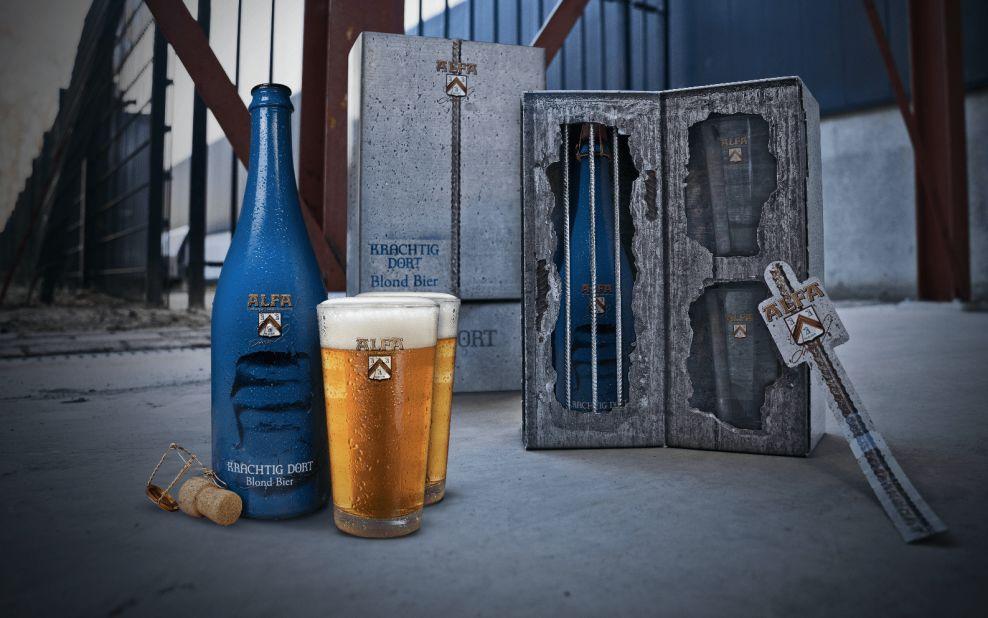 Alfa Beer package design