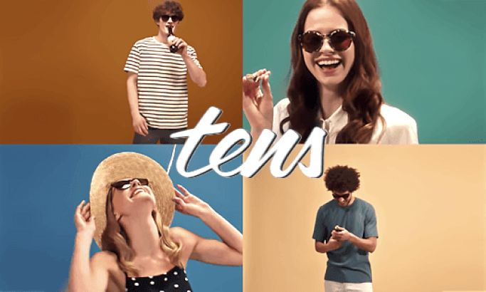 Tens' Retro-Inspired Video Design Hilariously Promotes Its Products While Portraying The Brand Identity