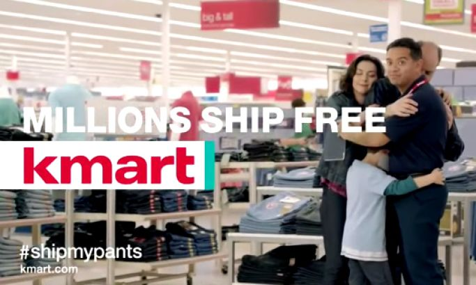 """Kmart's """"Ship My Pants"""" Commercial"""