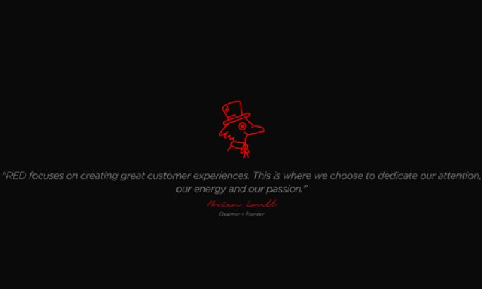 Red Professional Website Design