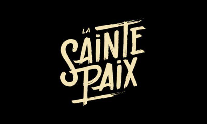 La Sainte Paix Minimal Website Design