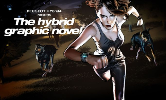 Peugeot Hybrid4 Creative Website Design