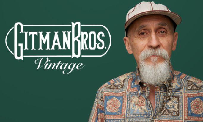 Gitman Vintage Clean Website Design