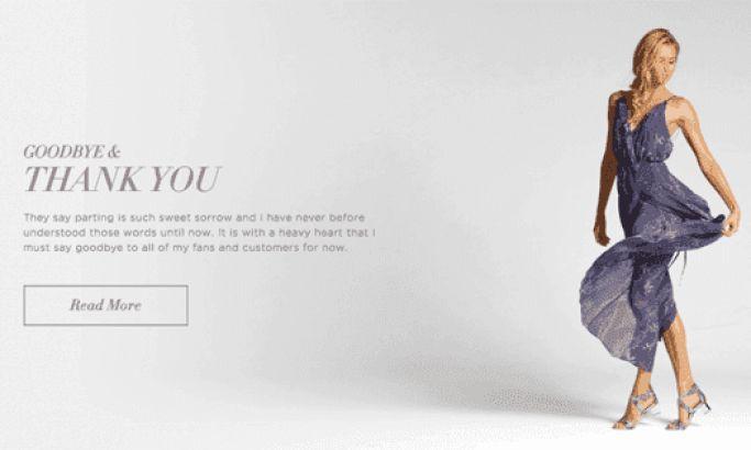 Anyi Lu Elegant Website Design