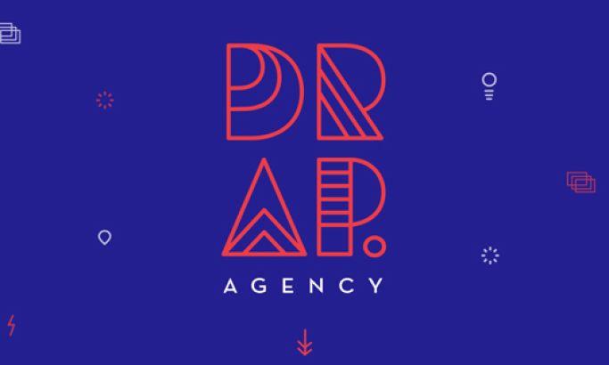 Drap Agency 2 Colorful Website Design