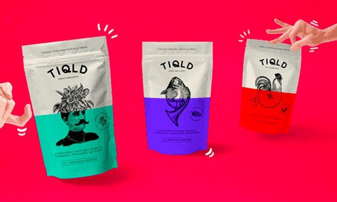 TIQLD Bold Package Design
