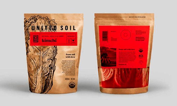 United Soil Illustrated Package Design