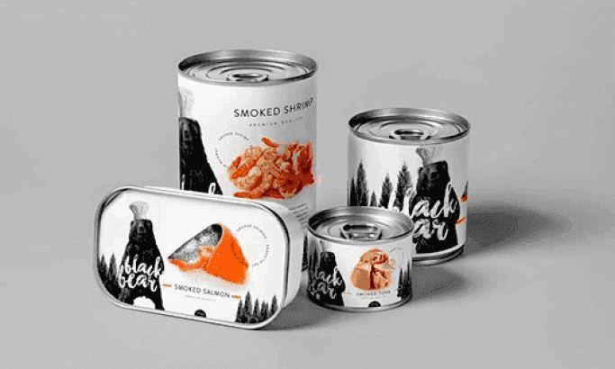 Black Bear Concept Great Package Design