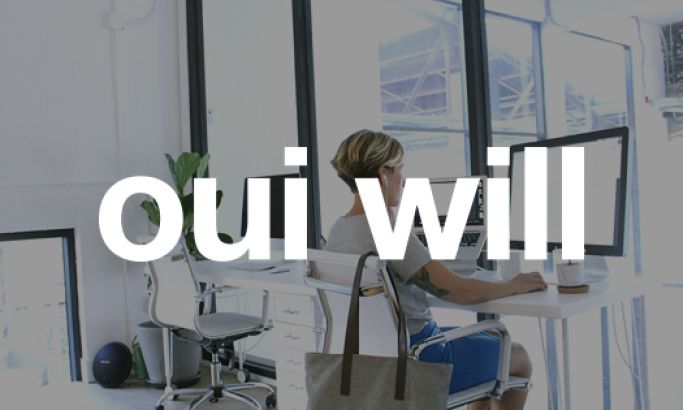 Oui Will Minimal Website Design