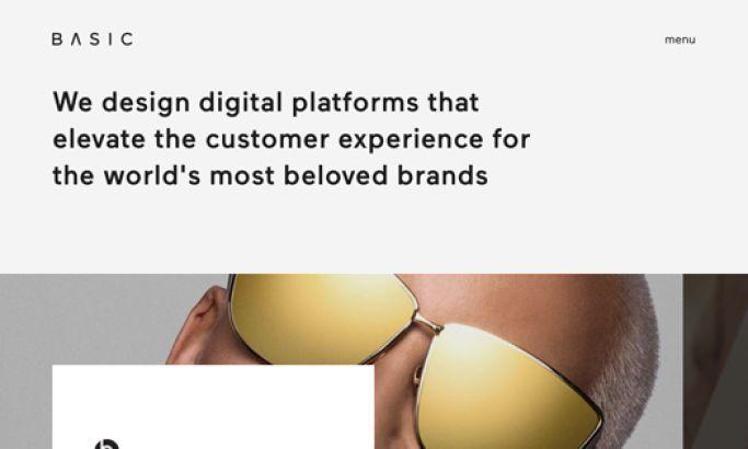 BASIC Clean Website Design