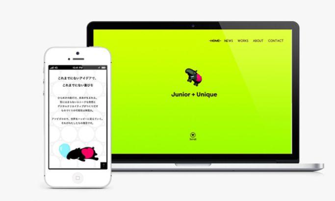 Junni Creative Website Design