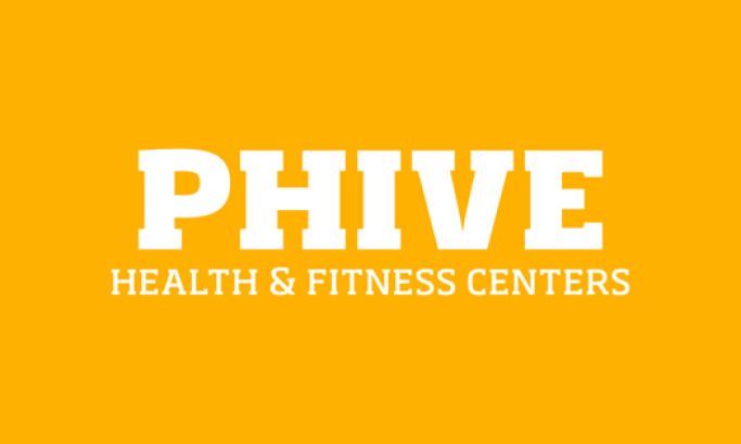 Phive Health & Fitness Clubs Beautiful Website Design