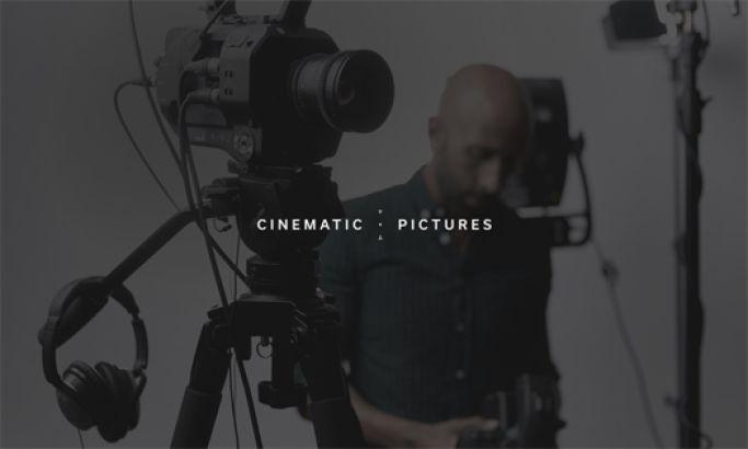 Cinematic Pictures Amazing Website Design