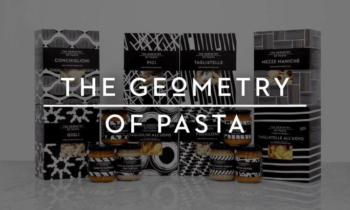 Geometry of Pasta Amazing Website Design