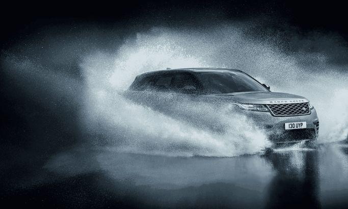 Range Rover Velar Great Website Design