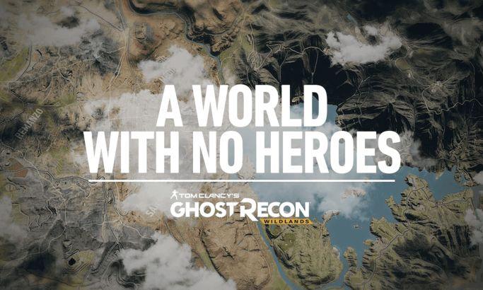 A World With No Heroes: Ghost Recon Wildlands Creative Website Design