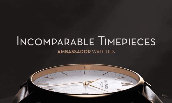 Ambassador Beautiful Website Design