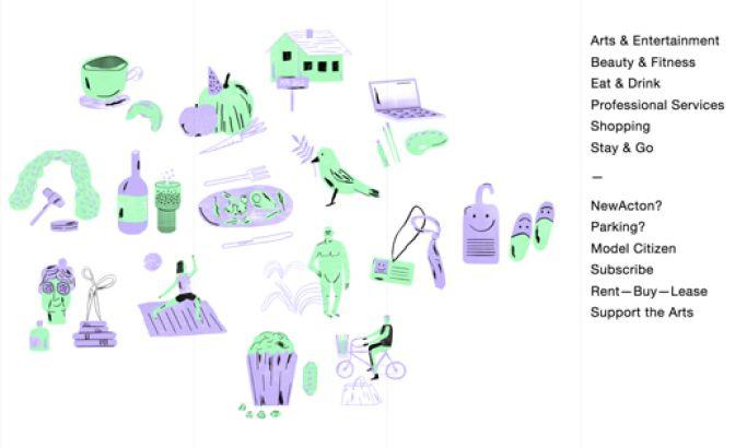 NewActon Minimal Website Design