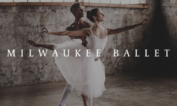Milwaukee Ballet Beautiful Website Design