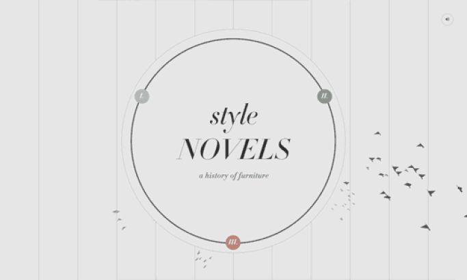 Style Novels Creative Website Design