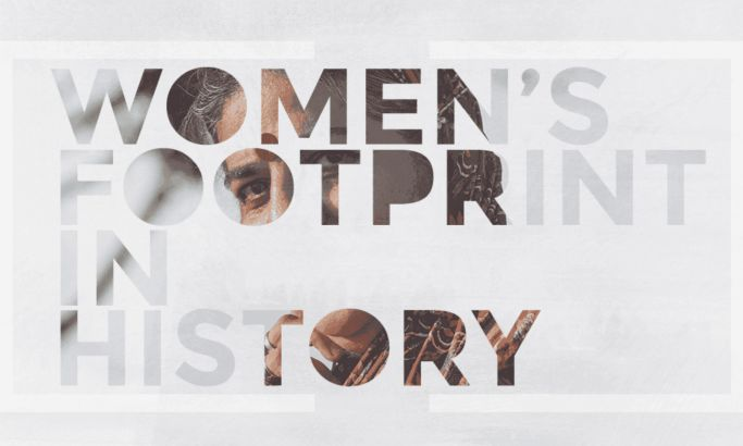 Women's Footprint In History Awesome Website Design