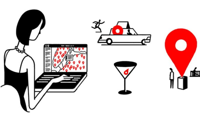 The New Yorker About Town Clean Website Design