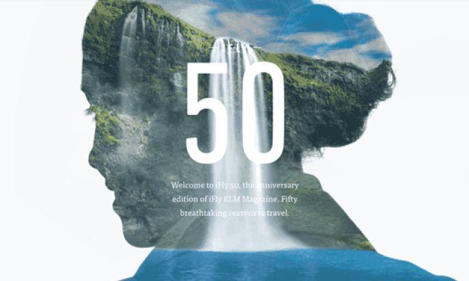 iFly50 Beautiful Website Design