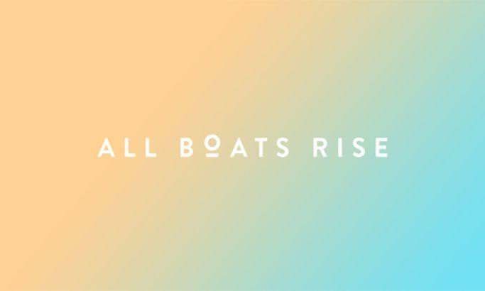 All Boats Rise Beautiful Website Design