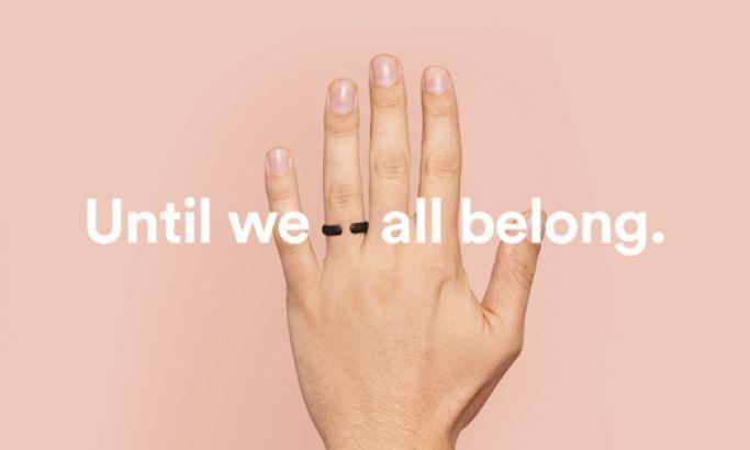 Until We All Belong Minimal Website Design