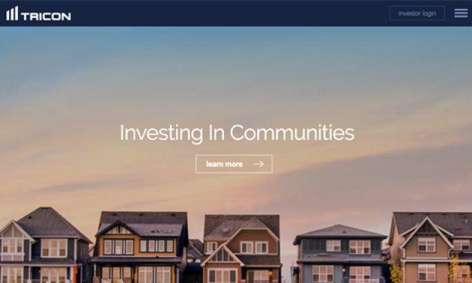 Tricon Capital Storytelling Website Design