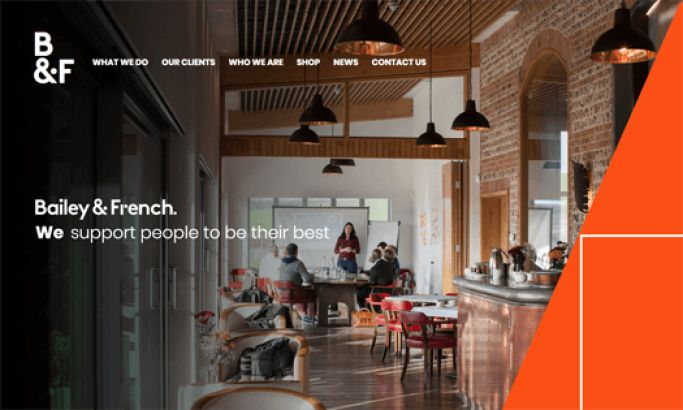 Bailey & French Corporate Website Design