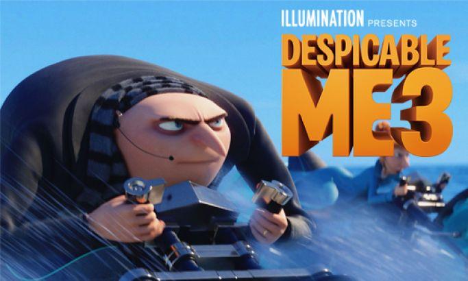 Despicable Me 3 Amazing Website Design