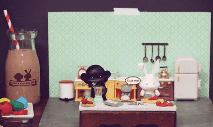 Coffee & Chocolate Milk Immersive Website Design