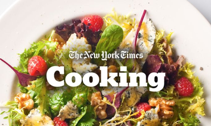 NYT Cooking Clean Website Design