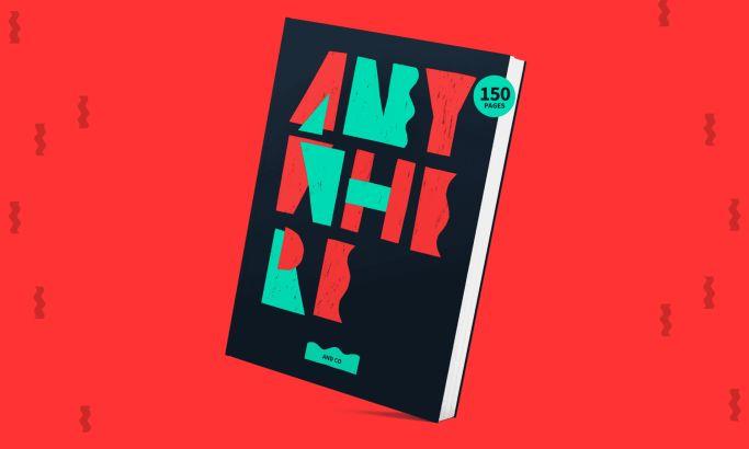 Digital Nomad Book Colorful Website Design