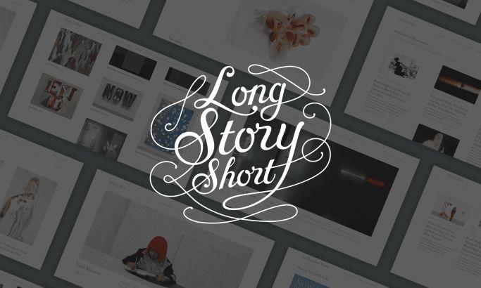 Long Story Short Design Clean Website Design