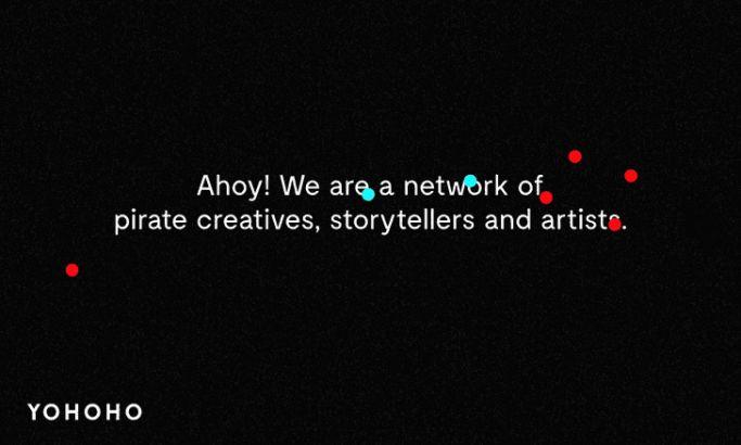 Yohoho Top Website Design