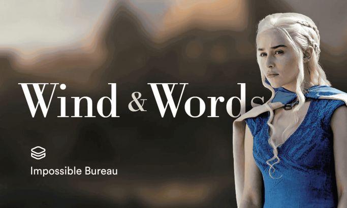 Wind & Words Amazing Website Design
