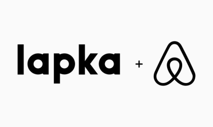 Lapka Minimal Website Design