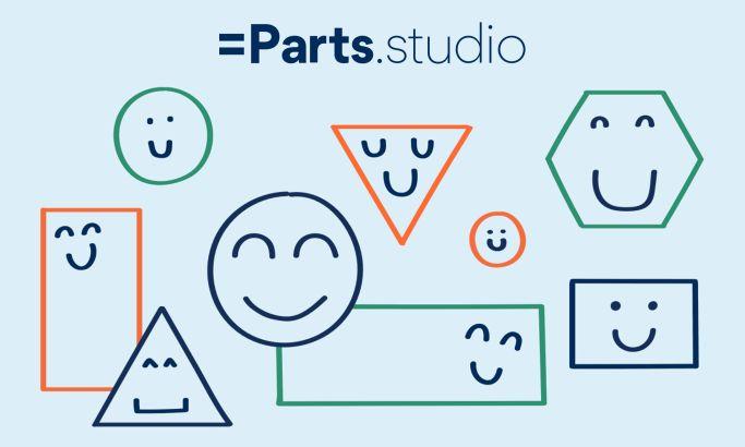 Equal Parts Studio Colorful Website Design
