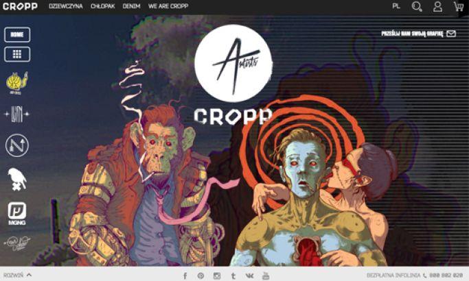 Cropp Creative Website Design