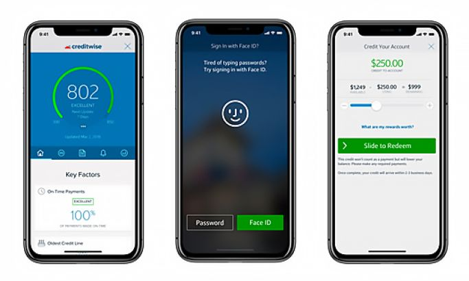 Capital One Great App Design