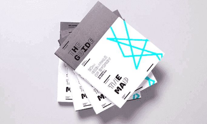 20th Biennale of Sydney Modern Print Design