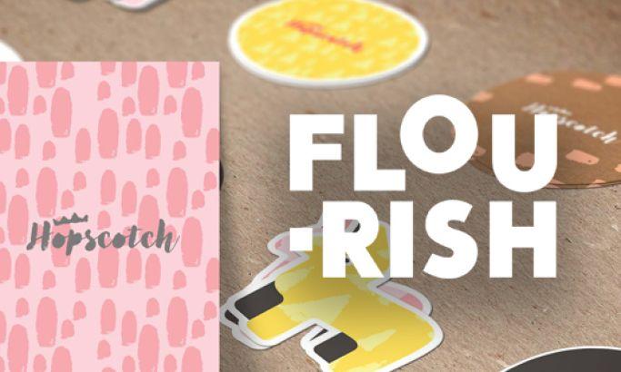 Flourish Clean Website Design