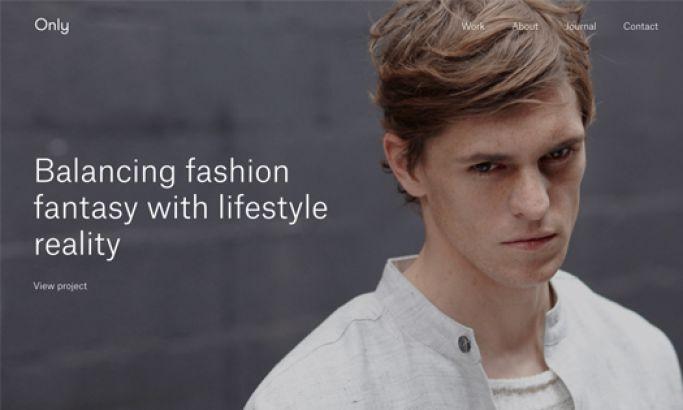 Only Studio Clean Website Design