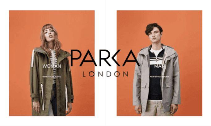 ParkaLondon Minimal Website Design