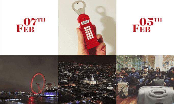 Web Atvantage: 5 Days in London Beautiful Website Design