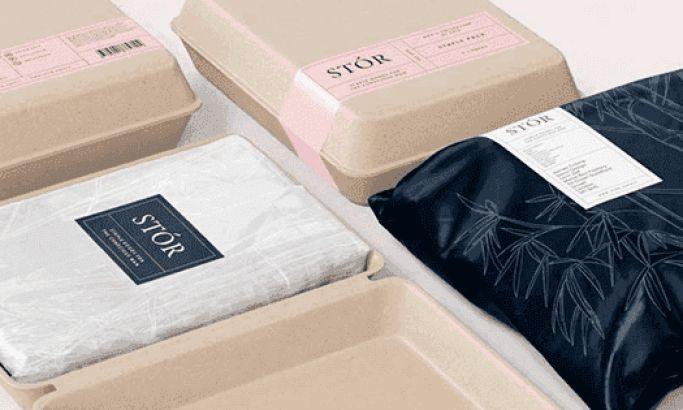 Stor Minimal Package Design