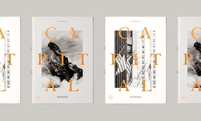 Capital Magazine Elegant Print Design