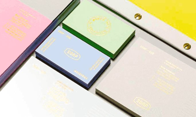 Soap Minimalist Print Design